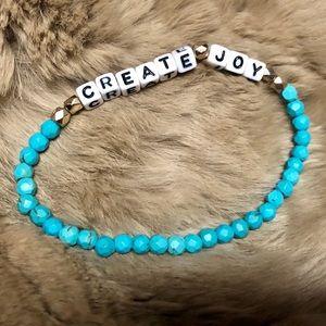 Turquoise Block Bracelet